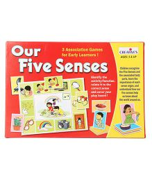 Creatives Our Five Senses Card Games - Multicolor