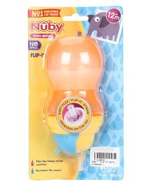 Nuby Flip It Sipper Orange - 320 ml