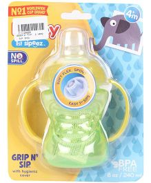 Nuby 1st Sipeez Cup Sipper Green - 240 ml