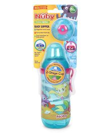 Nuby Stage 2 Cup Sipper Aqua - 360 ml