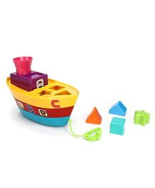 Giggles Stack A Boat - Multicolor