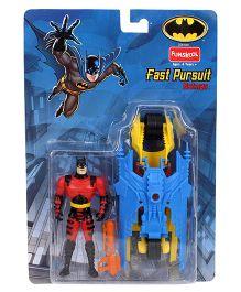 DC Comics Funskool Fat Pursuit Batman Figure Multicolor - 12 cm