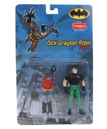 DC Comics Funskool Dick Grayson Robin Figure Multicolor - 11 cm