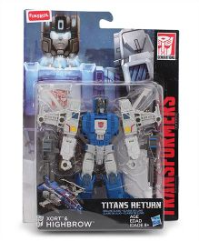 Transformers Funskool Xort And Highbrow Action Figure Multicolor - 14 cm