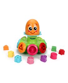 Tomy Funskool Sort N Pop Spinning Top - Multicolor