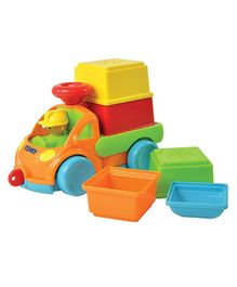 Tomy Funskool Pack And Stack Play Truck - Multicolor