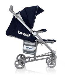 Brevi Ginger 3 Stroller - Black