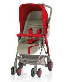 Brevi Boomerang Stroller - Red