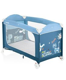 Brevi Dolcenanna Travel Cot - Blue