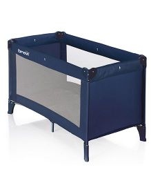 Brevi Travel B Travel Cot - Navy Blue