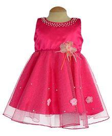 Simply Cute Aster Dress - Fuchsia Pink