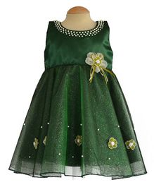 Simply Cute Aster Dress - Olive Green