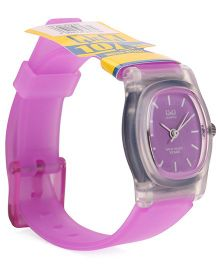 Q&Q Analog Watch - Purple