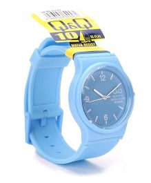 Q&Q Analog Wrist Watch - Blue