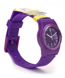 Q&Q Analog Wrist Watch - Purple