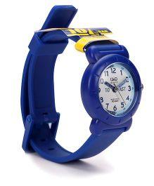 Q&Q Analog Wrist Watch - Dark Blue