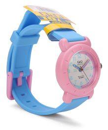 Q&Q Analog Wrist Watch - Blue