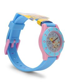 Q&Q Analog Wrist Watch - Blue Pink