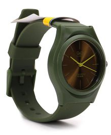 Q&Q Analog Wrist Watch - Green