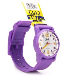 Q&Q Analog Wrist Watch - Light Purple