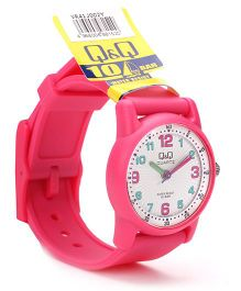 Q&Q Analog Wrist Watch - Fuchsia