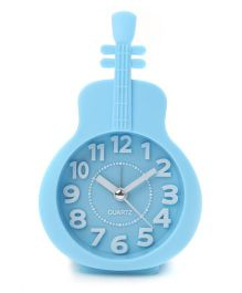 Guitar Shape Alarm Clock - Sky Blue