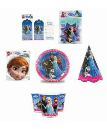 Disney Frozen Birthday Party Box - Blue