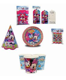 Disney Minnie Mouse Clubhouse Birthday Party Box - Multicolor