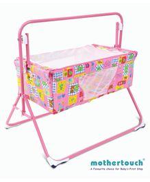 Mothertouch Wonder Cradle Bear Print - Pink