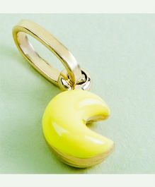 Doodles By Purvi Moon 18 Kt Gold Pendant - Yellow And Gold