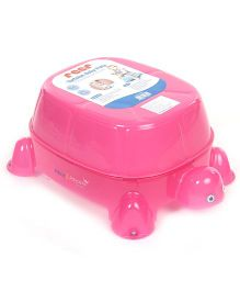 Reer Tortoise Shape Baby Potty Chair - Pink