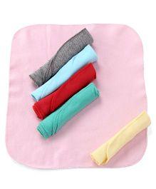 Ohms Napkin Pack of 6 - Multi Color
