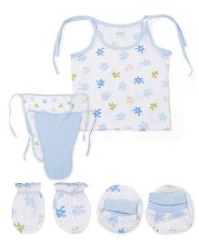 Ohms Gift Set Pack of 5 - Blue And White