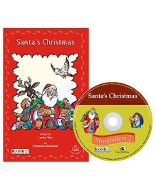 Santa's Christmas Book And CD - English