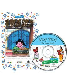 BookBox Lizzy Bizzy The Lizard Family Story Book With CD - English