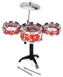 Playmate Flash Music Jazz Drum Set - Orange
