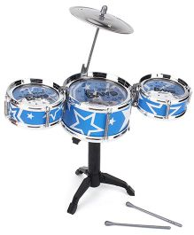Playmate Flash Music Jazz Drum Set - Blue