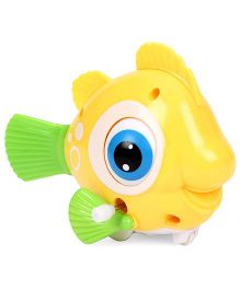 Playmate Wind Up Toy Fish (Colors may vary)