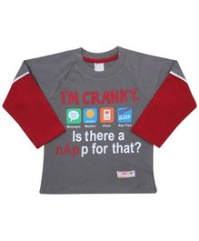 Full Sleeves T-Shirt - I M Cranky