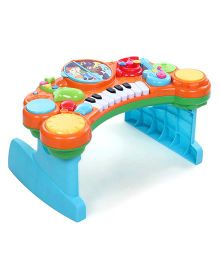 BKids Light N Sound 10 In 1 Music Combo ROHS - Multicolor