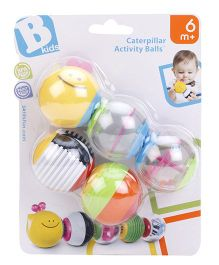BKids Caterpillar Activity Balls - Multi Color