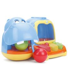 B Kids Hippo-Poppin Piano Pal - Multi Color