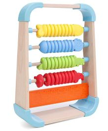 BKids Soft N Safe Animal Pal Abacus - Multicolour