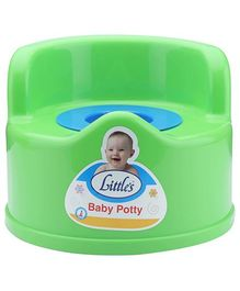 Little's Baby Potty Seat - Green
