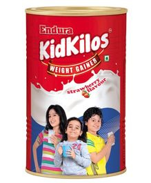 Kidkilos Weight Gainer Strawberry Flavor - 500 Grams