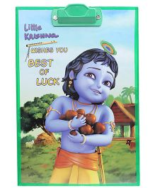 Little Krishna - Exam Pad Best Of Luck Print