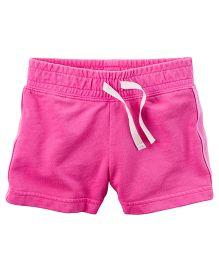 Carter's Solid Shorts - Dark Pink