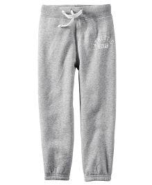 Carter's Fleece Active Pants - Grey