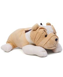 Liviya Bull Dog Soft TOy Cream - 63 cm