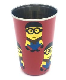 The Crazy Me Hand Painted Cartoon Pattern Tumbler - Pink